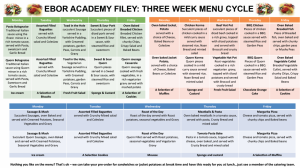 Ebor Academy Filey_Menus 2016 overview