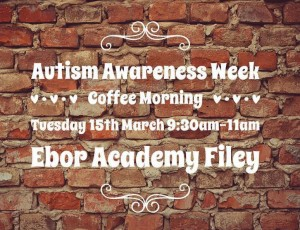 Autism Awareness Week Coffee Morning